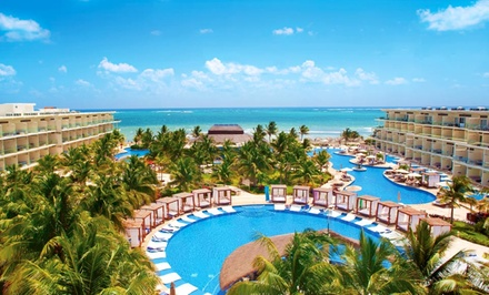 groupon daily deal - All-Inclusive Azul Sensatori Vacation with Airfare. Includes Taxes and Fees. Price/Person Based on Double Occupancy
