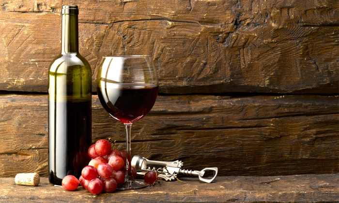 Put a Cork in it - Put A Cork In It: Wine Tasting With Souvenir Glasses for Two or Four at Put a Cork in it (Half Off)