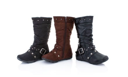 Coco Jumbo Toddler Girls' Boots. Three Styles Available. Free Returns.