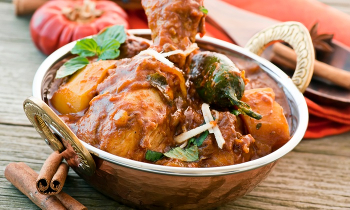 Delhi Darbar - Providence Place: Indian Food for Two or Four at Delhi Darbar (Up to 47% Off). Four Options Available.