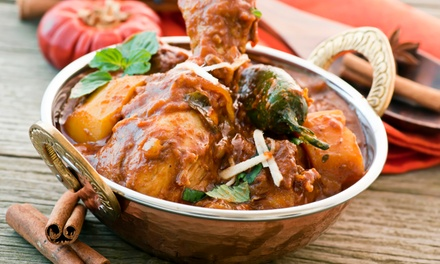 Indian Food for Two or Four at Delhi Darbar (Up to 47% Off). Four Options Available.