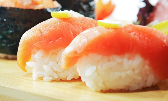 OKI Asian Bistro - Vernon: Sushi and Asian Cuisine for Two or Four at OKI Asian Bistro (50% Off)