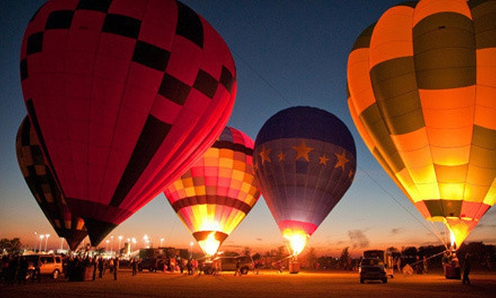 Celina Balloon Festival - Celina Park Fest: Admission for Two, Four, or Six to the Celina Balloon Festival (Half Off)