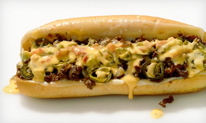 Texadelphia - Plano: Cheesesteak Sandwiches at Texadelphia (Up to 53% Off). Grand Opening. Two Options Available.