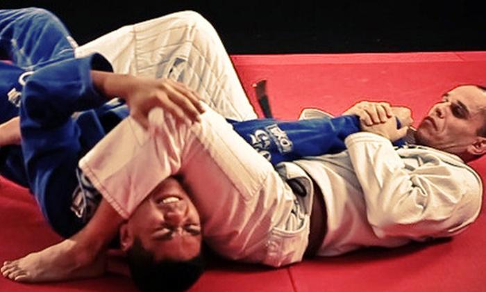 Chalk Jiu-Jitsu - Placentia: 6 or 12 Classes at Chalk Jiu-Jitsu (Up to 59% Off)