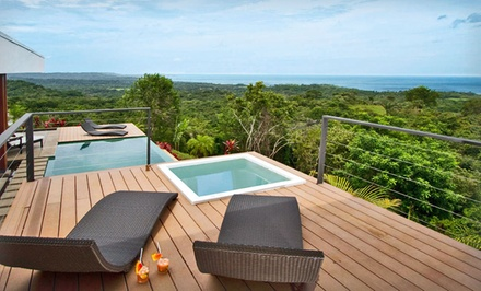 groupon daily deal - 4- or 7-Night Stay in a Casita, Three-Bedroom Villa, or Four-Bedroom Villa at Kalia Modern Eco-Living in Costa Rica
