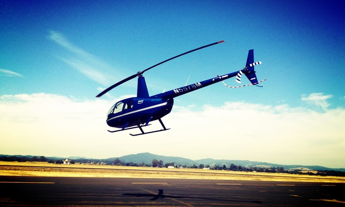 Helico Sonoma - Helico Sonoma: $249 for a 20-Minute Sonoma Valley Helicopter Tour and Food and Wine Pairing for Up to 3 ($465 Value)