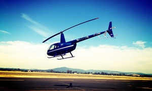 Helico Sonoma: $249 Sonoma Valley Helicopter Tour and Food and Wine Pairing for Up to 3 from Helico Sonoma ($465 Value)