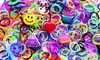 600 Assorted Color Loom Bands Bundle: 600 Assorted Color Loom Band Bundle with Crochet Tool, Clips, and Charms. Free Returns.