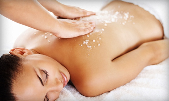 Wax'd - Mobile: One or Two Full-Body Scrubs with Mini Massages at Wax'd (Up to 53% Off)