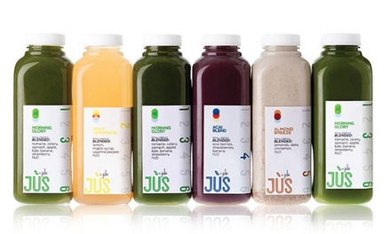 Juice Cleanse for $33–$175 from Jus by Julie