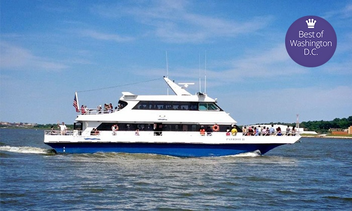 DC Harbor Cruises - Southwest Waterfront: Cherry-Blossom Springtime Harbor Cruise or Happy-Hour Cruise for One or Two at DC Harbor Cruises