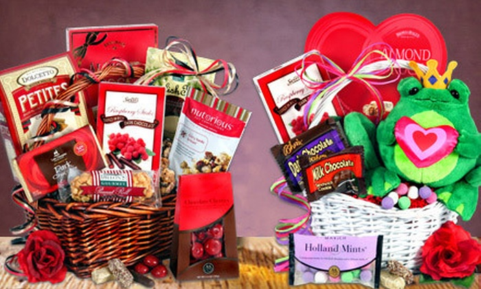 GourmetGiftBaskets.com: Gourmet Gift Baskets from GourmetGiftBaskets.com (Half Off). Two Options Available.