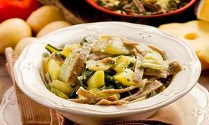 L'Arcangelo (Brescia):  Menu con gnocco fritto e primi tipici illimitati per 2 o 4 persone da L'Arcangelo (sconto fino al 78%)