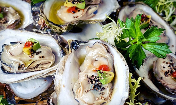 Hawgs Seafood Bar - Campbell: $30 for $60 Worth of Seafood at Hawgs Seafood Bar
