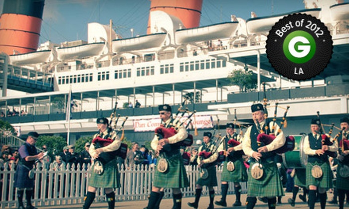 20th Annual Scotsfest & Rock yer Kilt Concert  - Long Beach, CA: ScotsFest on February 16 and 17 with Optional Concert Access at The Queen Mary (38% Off)