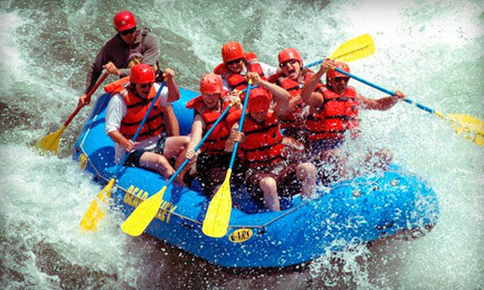 Bear Valley River Co. - Banks: Whitewater-Rafting Trip for Six or Eight from Bear Valley River Co. in Banks (Up to Half Off)