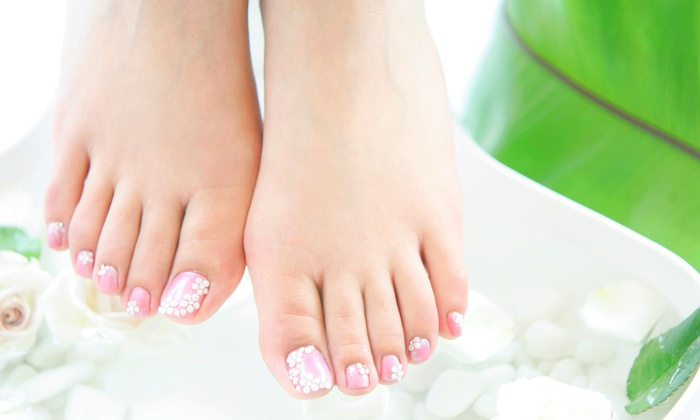 Sorelle - Northwest Side: $45 for a No-Chip Manicure with a Regular Pedicure at Sorelle ($70 Value)