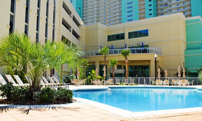 Emerald Beach Resort - Panama City Beach, FL: Stay at Emerald Beach Resort in Panama City Beach, FL. Dates Available into February