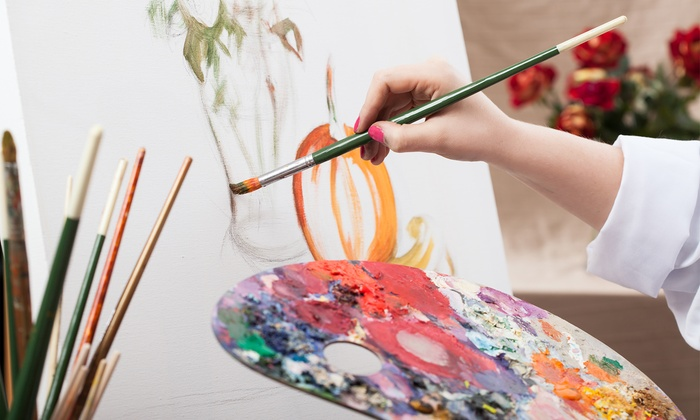 Picasso's Corner - Pleasantville: BYOB Painting Class for 1, 2, or 4 Adults, or Private Painting Party for Up to 10 at Picasso's Corner (Up to $ Off)