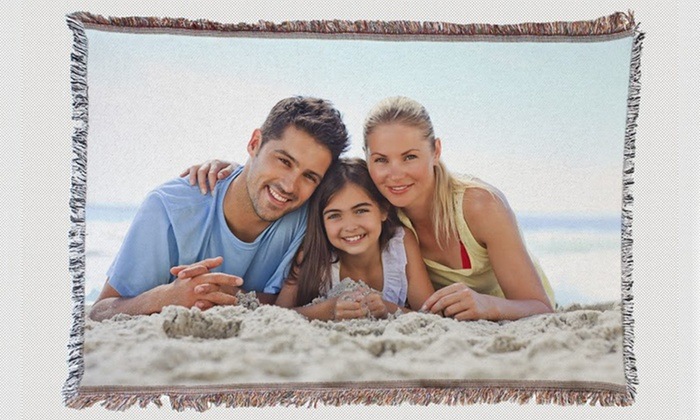 Customizable Tapestry Photo Blanket from MailPix: Customizable Tapestry Photo Blanket from Mailpix. Free Shipping.