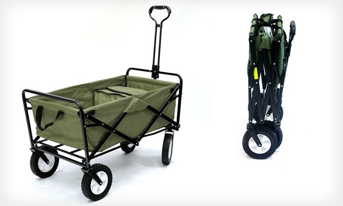 Mac Sports Folding Wagon with Cooler: $69.99 for a Mac Sports Folding Wagon with Cooler ($119.99 List Price). Free Shipping and Returns.