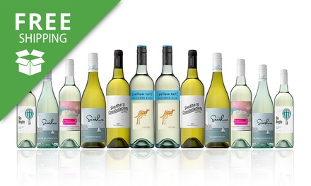 Free Shipping: $69 for a Mixed Case of White Wines Including Yellow Tail Sauv Blanc Don't Pay $189