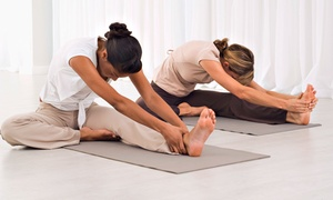Joy Yoga Center: $41 for One Month of Unlimited Yoga Classes at Joy Yoga Center ($120 Value)