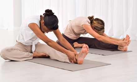 $41 for One Month of Unlimited Yoga Classes at Joy Yoga Center ($120 Value)