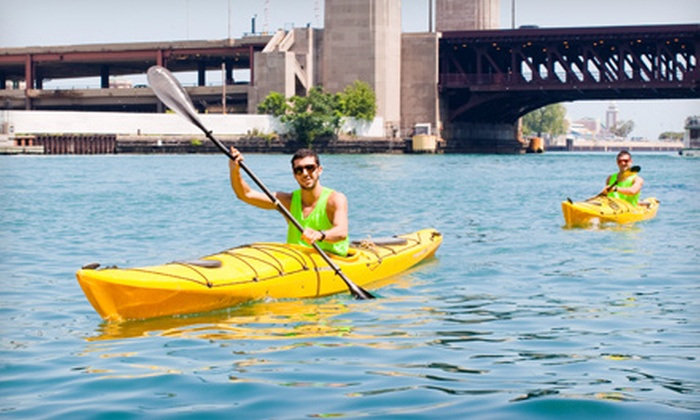 Urban Kayaks - Chinatown: Single-Kayak Rental or Guided Tandem-Kayak Paddle at Urban Kayaks (Half Off)