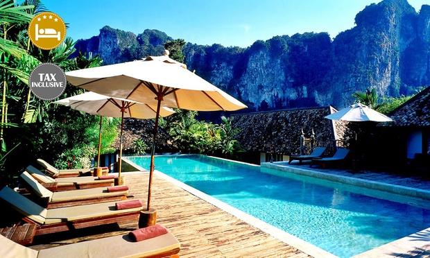 Krabi:4*Stay near Limestone Hills 0
