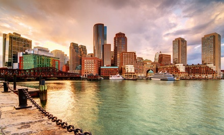 groupon daily deal - Stay at Boston Park Plaza in Boston, with Dates into September