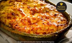 Taberna Portuguesa: Taberna Portuguesa – Espinheiro: jantar com entrada, prato principal e sobremesa para 2 pessoas