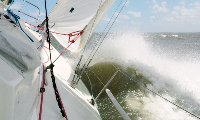B Sailing - Seabrook: $272 for For 6-Person Boat Ride for 4 Hours at B Sailing ($499 value)