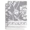 Linum Penelope Turkish Cotton Floral Jacquard Bath Towels (2-Pack)