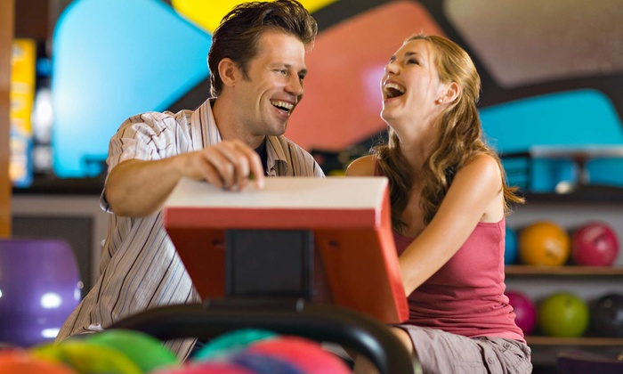 Spare Time Greensboro - Greensboro: Two Games of Bowling and Shoe Rental for Two or Four at Spare Time (50% Off)