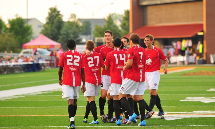 Des Moines Menace - West Des Moines: Ticket Packages to See the Des Moines Menace Soccer Team at Valley Stadium (Up to 57% Off). Multiple Games Available.