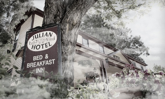 Up To 42 Off At Julian Gold Rush Bed Breakfast In Southern California
