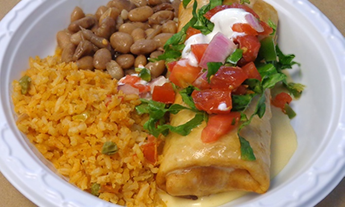 Pico De Gallo - Brownsburg: Mexican Meal for Two or Four with Entrees, Sides, and Drinks at Pico De Gallo (Up to 56% Off)