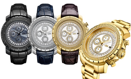 JBW Titus Men's Genuine Diamond Watch With Free Delivery
