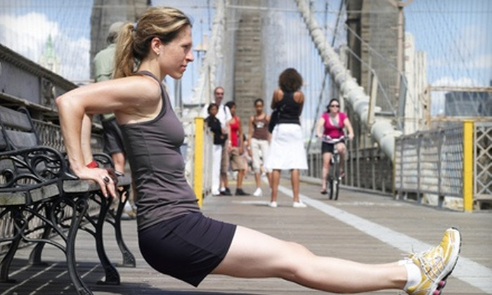 Brooklyn Bridge Boot Camp - Multiple Locations: Five Boot Camp Sessions or 21-Day At-Home Detox Program at Brooklyn Bridge Boot Camp (Up to 53% Off)
