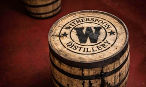 Witherspoon Distillery: Distillery Tour for Two or Four Plus Souvenir at Witherspoon Distillery (55% Off)