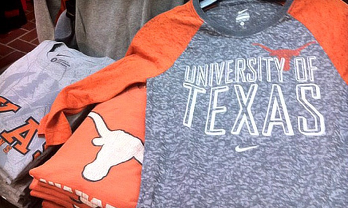 Campus Collection - Amarillo: $20 for $40 Worth of Collegiate Apparel and Gifts at Campus Collection