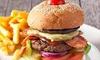 KEG and Beagle - linksfield: Any Burger and Draught off the Menu from KEG and Beagle