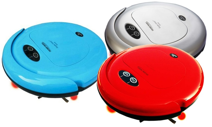 Techko Maid Super Maid Robotic Vacuum, Sweeper, and Mop: Techko Maid Super Maid Robotic Vacuum, Sweeper, and Mop. Multiple Colors Available. Free Returns.