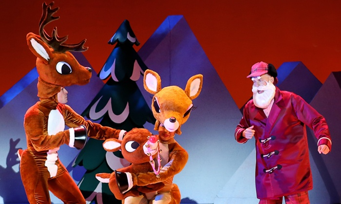 Rudolph The Musical Rudolph The Red Nosed Reindeer The Musical Groupon