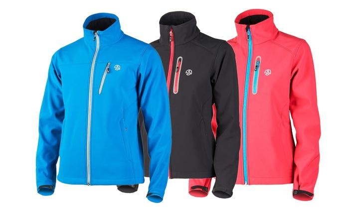Ternua Softshell-Jacke Harold oder Cherbo in Blau, Altrosa oder Schwarz