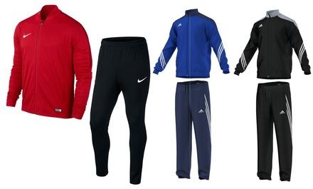 Polyester-Trainingsanzug Nike Academy 16 od. adidas Sereno 14 für Kinder od. Erwachsene mit Versand (bis zu 31% sparen*)
