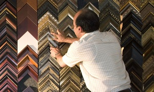 Picture Worth Custom Framing: $39 for $100 Worth of Custom Framing from Picture Worth Custom Framing
