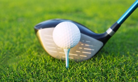 9- or 18-Hole Round of Golf with Cart Rental for Two at Oak Ridge Golf Course (Up to 49% Off)